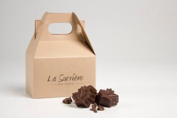 Chocolats noirs au beurre d'érable